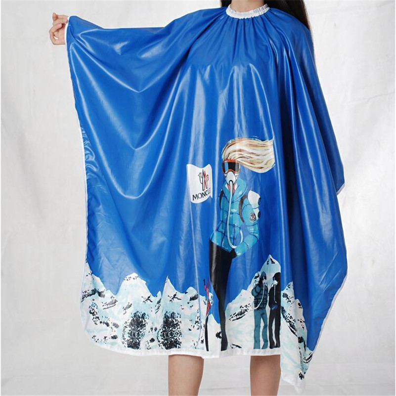 Salon Barber Gown Cape 1PCS Adult Hairdressing Hairdresser Hair Cutting Aprons Cloth Hair Accessories Tools 10