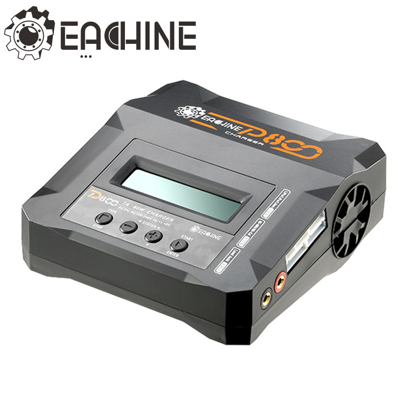 Eachine D800 7A 80W Dual Input Power AC/DC Balance Charger For NiCd NiMH Lithium PB Battery браслет power balance бкм 9668