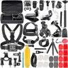Neewer Action Camera Accessory Kit For Sjcam SJ4000 5000 6000 DBPOWER AKASO VicTsing APEMAN WiMiUS Rollei