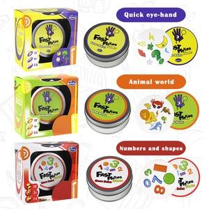 Image 4 - היגיון משחק סוויש כיף שקוף חינוך כרטיס משחק היגיון משחקים לילדים משחק כרטיסי ספוט לוח משחקי צעצועים לילדים