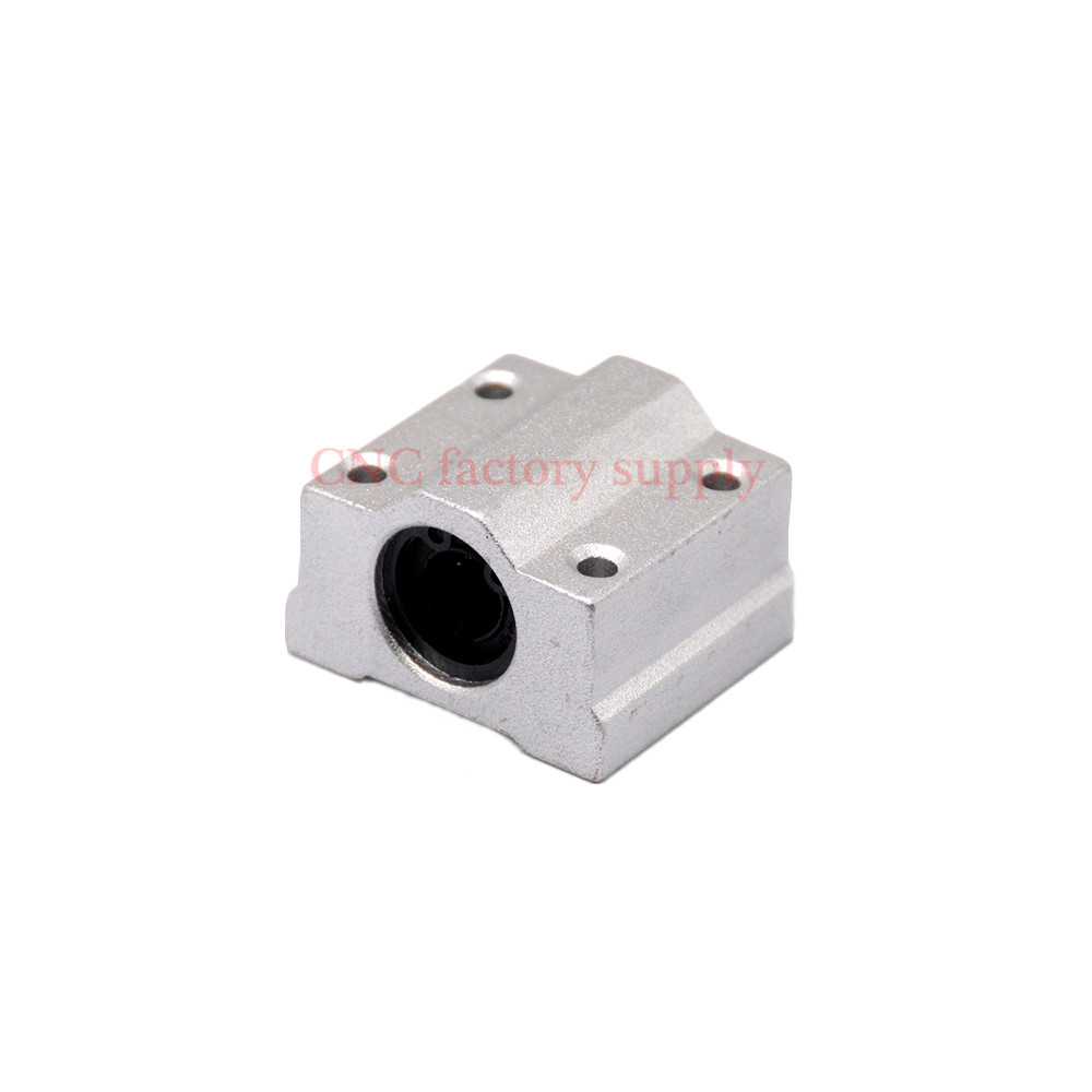HOT sale 1pc SC10UU SCS10UU 10mm Linear Ball Bearing Block CNC Router sc10uu scs10uu 10mm linear axis ball bearing block bearing pillow bolck linear unit for cnc