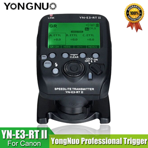 Image 2 - YONGNUO YN E3 RT II פלאש TTL רדיו טריגר Speedlite משדר כמו ST E3 RT עבור Canon 600EX RT YONGNUO YN600EX RT