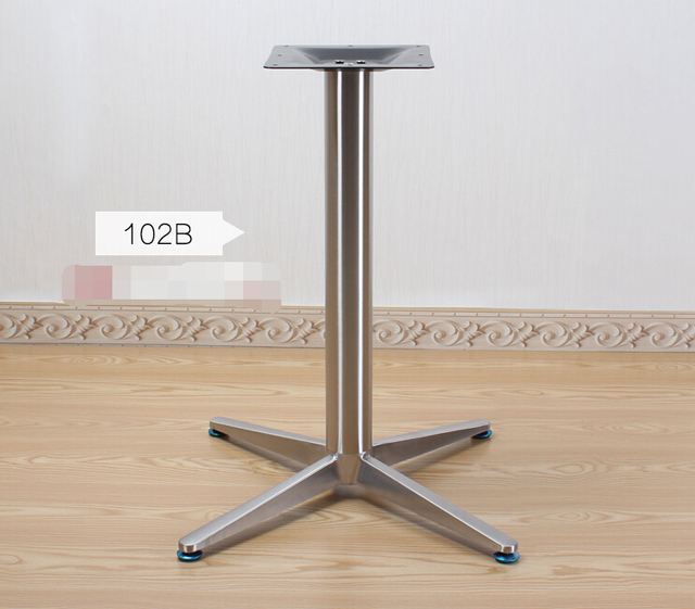 tainless steel table legs.. The table legs. Counter racks. Table frame