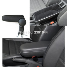 FOR VW NEW POLO HB/SEDAN 2011-2018 CAR ARMREST,Car Interior Accessories Parts Car Center Console Box Arm Rest Storage Driver box цена