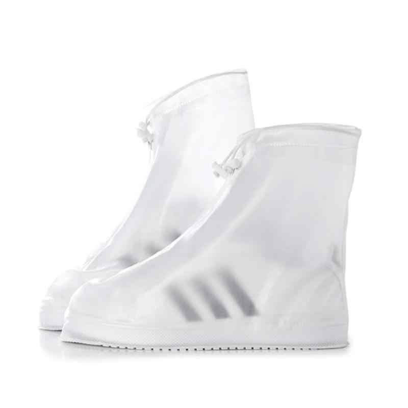 في الهواء الطلق قابلة لإعادة الاستخدام للماء الجرموق أغطية الحذاء أحذية حامي الرجال النساء الأطفال غطاء للمطر ل إكسسوارات أحذية