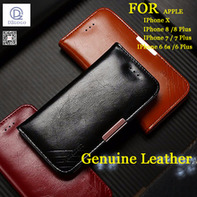 Case For Apple Iphone 6 6s Plus 7 7 Plus 8 8 Plus X Case Royal II Series Genuine Leather Wallet Case  coque fundas For iphone X oppselve breath case for iphone x 7 6 6 s plus luxury ultra thin slim hard pc cover case for iphone x ix coque fundas capinhas