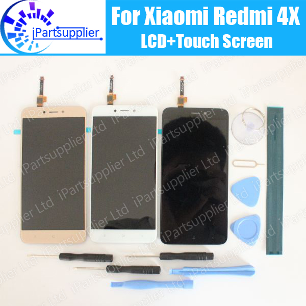 For Xiaomi Redmi 4X LCD Display+Touch Screen 100% Tested LCD Digitizer Glass Panel Replacement For Xiaomi Redmi 4XFor Xiaomi Redmi 4X LCD Display+Touch Screen 100% Tested LCD Digitizer Glass Panel Replacement For Xiaomi Redmi 4X
