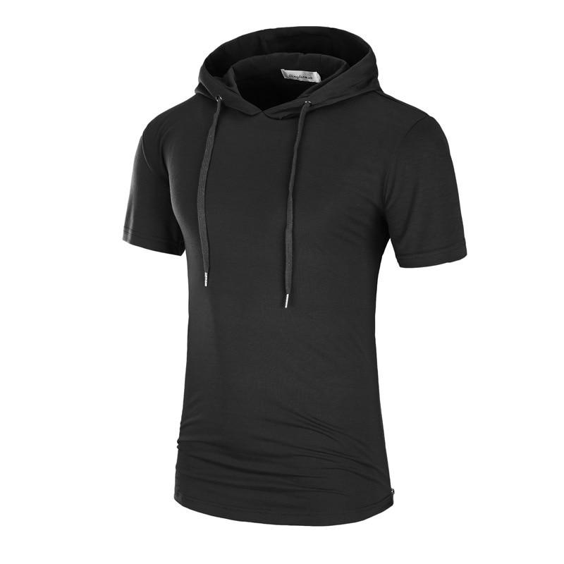 Di Carattere Dolce 2019 Quick Dry Manica Corta Con Cappuccio T Shirt Estate Escursionismo Militare Maglietta Degli Uomini All'aperto Esercito Tattico Di Combattimento Di Caccia Uniforme