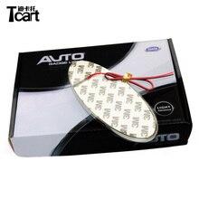 Tcart для Ford эмблемы свет авто 4D эмблема лампа светодио дный 4D светодиодные задние 4D значок стикер свет 4светодио дный светодиодный логотип свет
