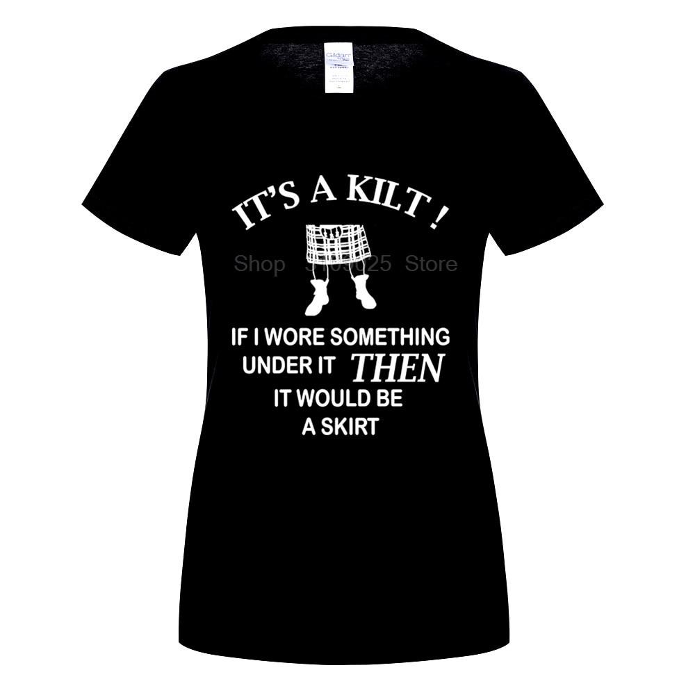 GILDAN DIY Style womens t shirts Geek Family Top Tee womens Kilt Wearers T Shirt Funny Gift Idea For Scottish women