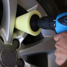 Полезная Полировочная Губка для полировки конусов полировальные колодки для автомобильного ступицы колеса Автомобильный инструмент для Прямая поставка