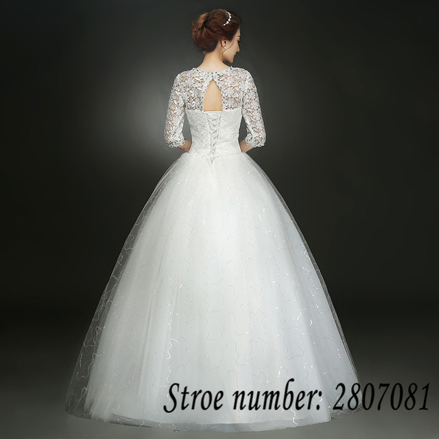 Summer Real Photo Half Sleeves V-Neck Bling Wedding Dresses Cheap Red White Bride Gowns Custom Made XXN145