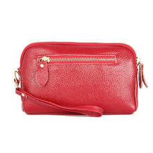 Leather Cowhide 2019 New Shoulder Bag Luxury Brand Women's Messenger Bag Stylish Simplicity Handbags Ladies Chain Evening Bag