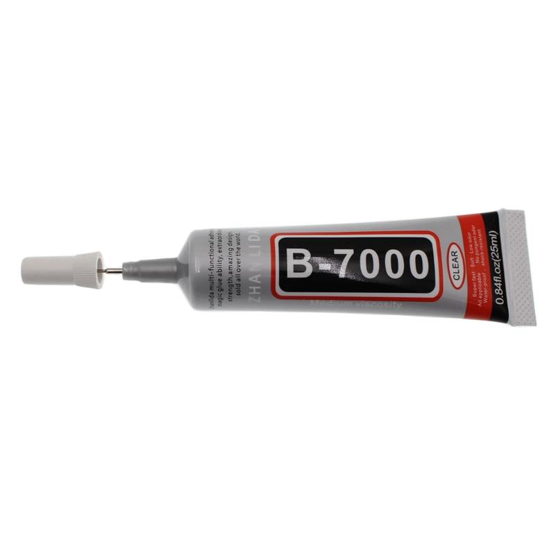 25 ML Super B7000 liquide clair bois tissu colle industrielle B-7000 écran tactile adhésif Bts Transparent résine époxy liaison uv