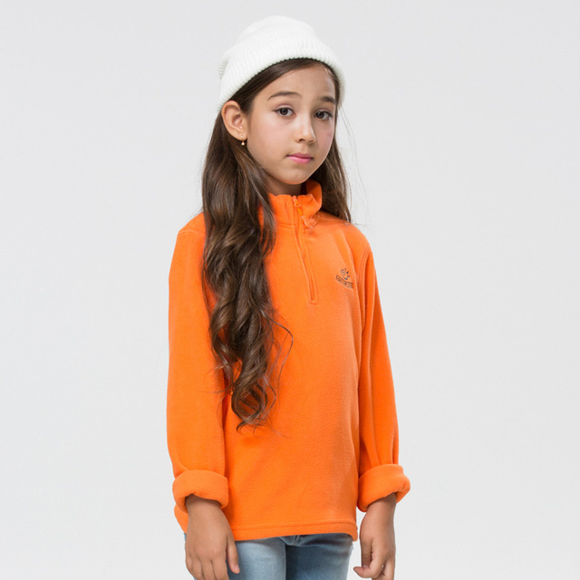 Novo 2016 primavera outono inverno crianças hoodies meninos meninas marca de alta qualidade polar do velo camisola hoodies do esporte da forma