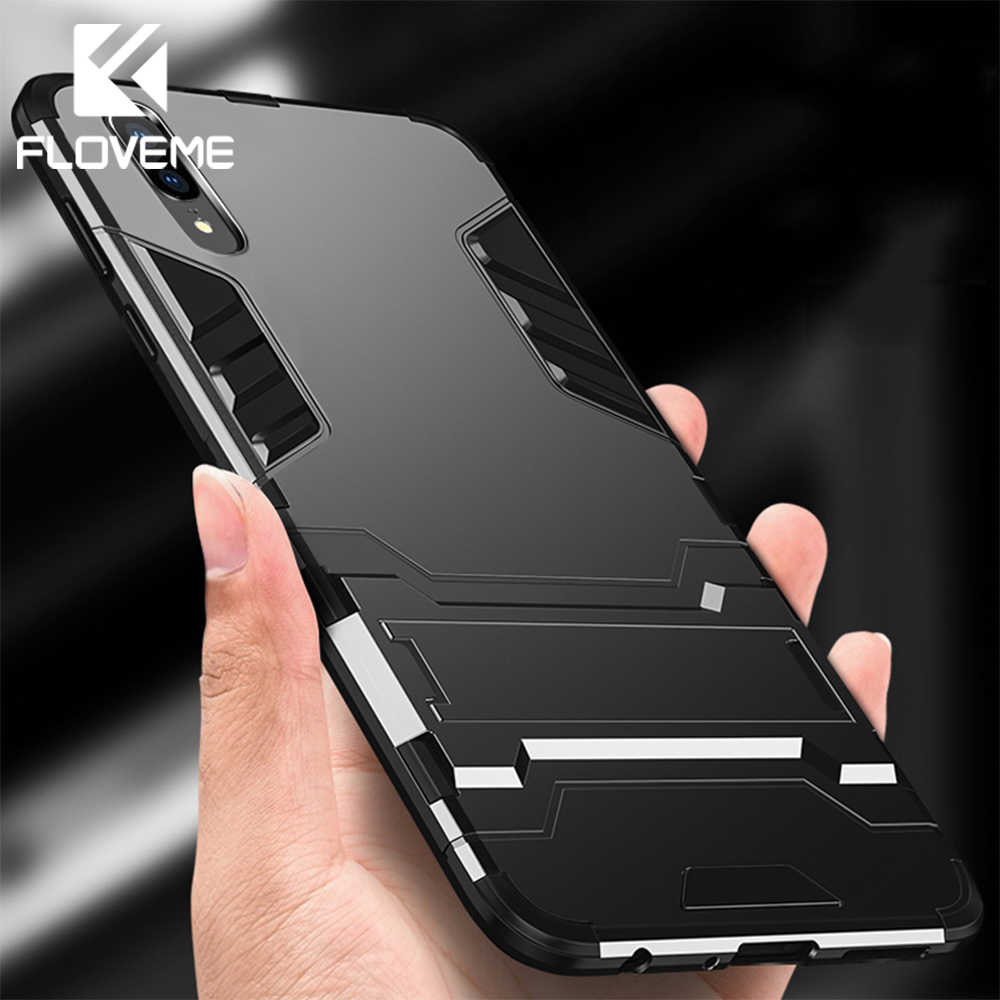 FLOVEME Shockproof Phone Case For Huawei P20 Lite Pro P10 Protective Holder Case For Honor 9 Mate 10 Lite V10 V9 Play Cover Capa