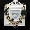 XL105 camelia CC marca de lujo de estilo marca número 5 cadena collier bijoux neckless collares mujeres maxi/groot kolye sautoir
