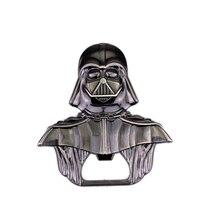 High Quality Star Wars Lord Darth Vader Bar Beer Bottle Cap Opener Keyring Movie Star Wars Black Warrior Keychain Gift
