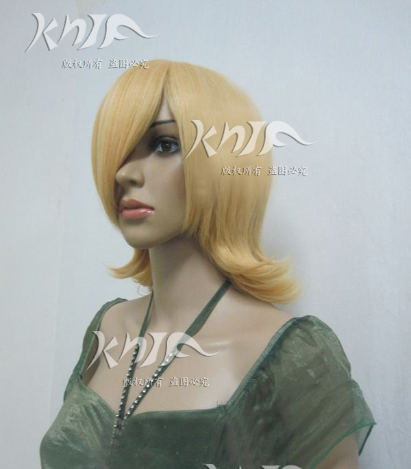 Good quality RIN font b hair b font accessories 170g 33cm golden synthetic font b hair