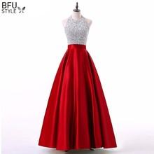 577d2ac5 Elegant Women Sequins Shiny Maxi Dress Halter Backless Dresses Autumn Sexy Long  Gown Party Proms Evening