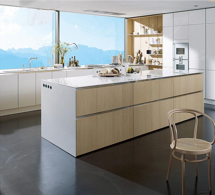 US $1500.0  Linkok mobili prezzo all\'ingrosso della fabbrica poco costoso  cina personalizzato moderno americano mobili da cucina contemporanea in ...