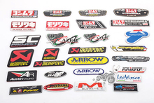 auto Akrapovic Exhaust Muffler Decal Waterproof Car 3M yoshimura Sticker Motorcycle Decals Moto Gp KTM CRF