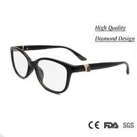 High Quality Women Spectacles Eyewear Handmade Acetate Women S Glasses Optical Myopia With Diamond Luxury Glasses