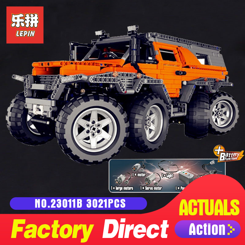 LEPIN 23011 Technic series 2816Pcs Off-road vehicle Model car Building blocks Bricks for Children Christmas gifts new lepin 23011 technic series 2816pcs off road vehicle model building blocks bricks kits compatible 5360 to children gifts