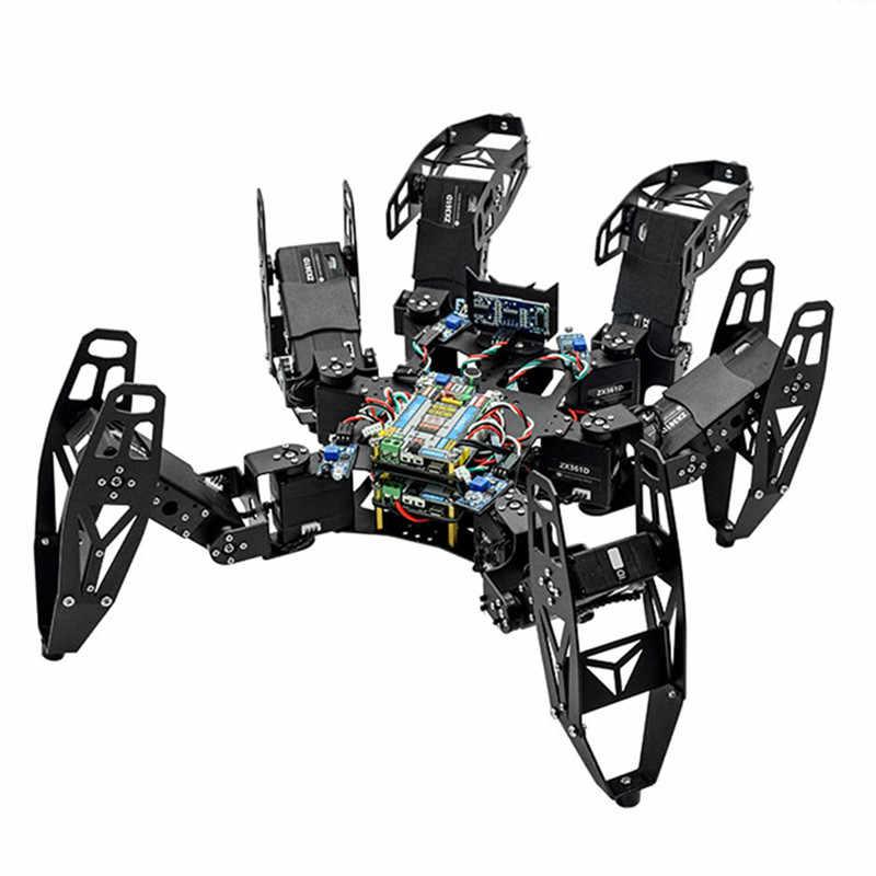 ZL-TECH QF-6 Kit Educacional DIY RC Robot Obstacle Avoidance Controle APP Vara Indoor Brinquedos Ao Ar Livre Para Crianças Presentes para Crianças