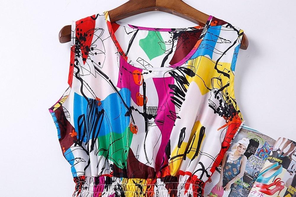HTB1drv3HFXXXXXRXVXXq6xXFXXXi - Summer Women Dress Vestidos Print Casual Low Price