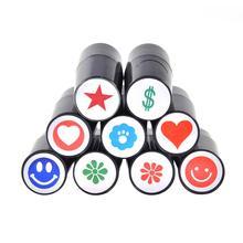 Резиновые для гольфа мяч уплотнение мяча штамп быстро сухой пластик силиконовый штамп печать для маркера печати