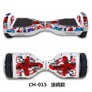 Image 5 - 6.5 inch Electric scooter Sticker Gyroscooter hoverboard Skateboard sticker Blance wheel board giroskuter overboard Sticker