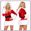 New Arrive1 Set Sexy Women Santa Claus Christmas Costume Party Girls Outfit Fancy Dresses