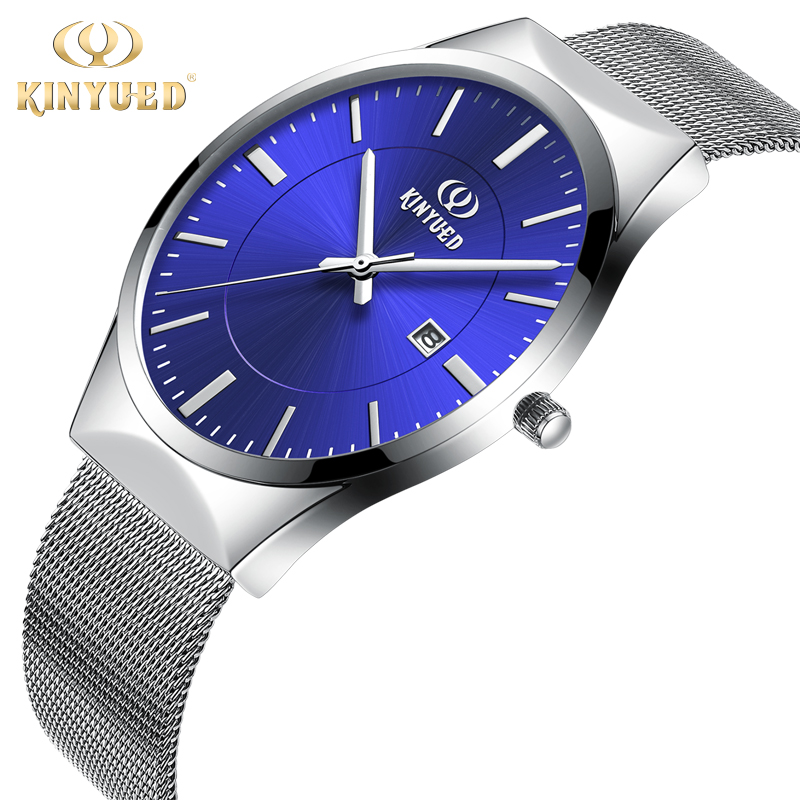 Luxury Brand Watch Men Quartz Ultra Thin Auto Date Casual Watches Male Waterproof Calendar Steel Hook Buckle relogio masculino top luxury brand full stainless steel watches men business casual ultra thin quartz wristwatch waterproof date relogio masculino