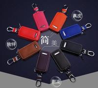 Lion Bolong Genuine Leather Auto Key Case Luxury Style Car Key Ring For Bentley Maserati Ferrari