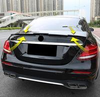 PAINT CAR REAR WING TRUNK LIP SPOILER FOR BENZ W213 E Class 4 Door E200 E220 E250 E300 2016 2017 2018 BY EMS