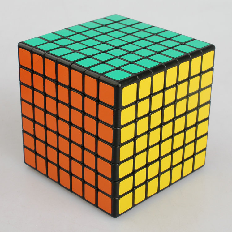 ShengShou Mini 7x7 Puzzle Cube Professional PVC&Matte Stickers Cubo Magico Puzzle Speed Classic Learning&Educational Toy