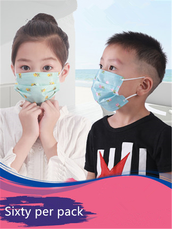 Children Disposable Masks Female Autumn And Winter Anti-dust Male Anti-bacteria Smog Girls, Boys And Children Special Baby
