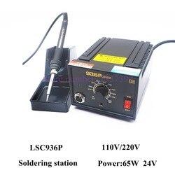 Hoogwaardige LSC936P antistatische Verstelbare thermostaat 110 V/220 V elektrische ijzer solderen lassen station soldeerbout 936