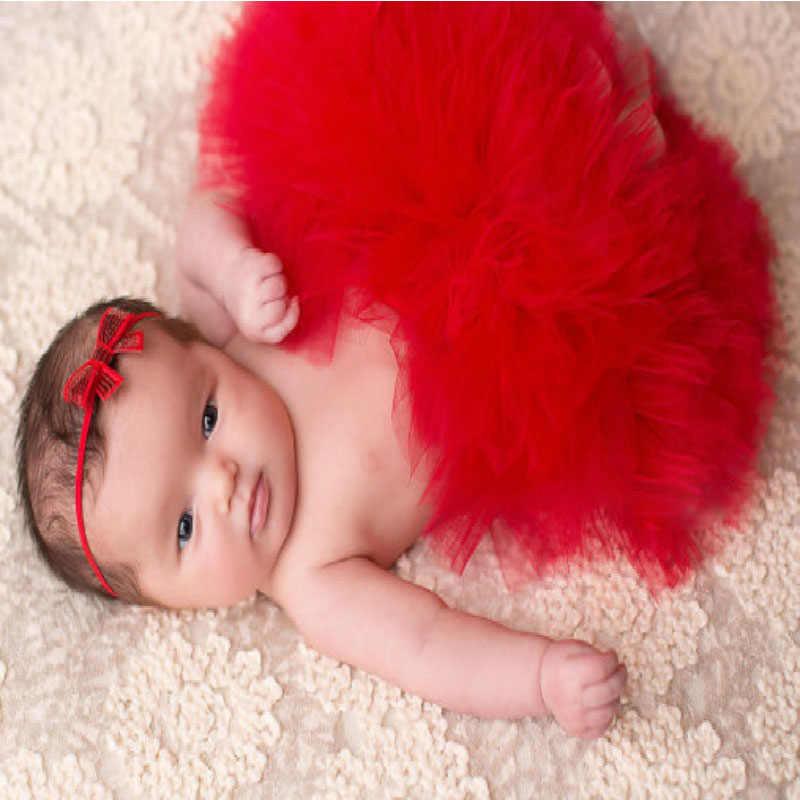 Тюлевая юбка-пачка для маленьких девочек, повязка на голову с цветами для маленьких девочек, комплект для новорожденных, реквизит для фотографии, одежда для дня рождения, подарки