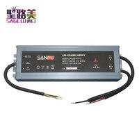 SANPU IP67 12 V fonte de Alimentação À Prova D' Água 250 W 230 V 220 V AC para DC 12 Volt Transformador de Iluminação motorista LEVOU Ultra Slim para LEDs|Transformadores de iluminação|   -