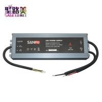 SANPU 12V Power Supply Waterproof IP67 250W 230V 220V AC to DC 12 Volt Lighting Transformer LED Driver Ultra Thin Slim for LEDs