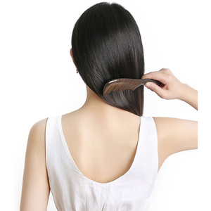 Image 5 - Best Gift Youpin Xinzhi Healthy Natural Log Comb No Static Pocket Wooden Comb Hand Made Professional Hair Styling Tool For Woman