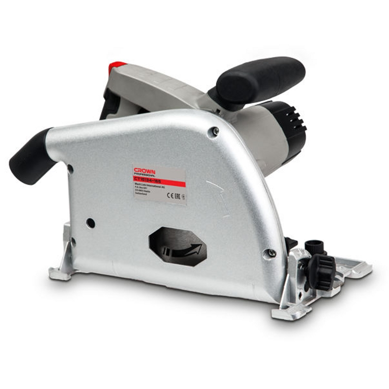 Saw circular CROWN CT15134-165 (Power 1300 W, no load speed from 2000 to 5000 rpm Min, tilt 45 °) crown xls 2000
