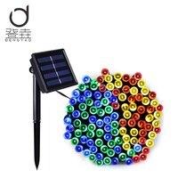 Dengyao 200 LED Solar Lamps LED String Fairy Lights Garland Christmas Solar Lights For Wedding Garden