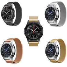 20mm 22mm strap for Samsung galaxy watch 42 46 active Gear sport s2 S3 huawei watch GT 2 pro pebble time Stainless Steel Band new arrival 20mm stainless steel watchband for pebble time round smart watch casual pebble men strap bracelet