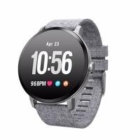 Men Women Smartwatch V11 Pedometer Smart Watch IP67 Waterproof Tempered Glass Activity Fitness Tracker Heart Rate Monitor BT4.0
