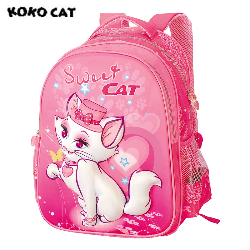 Female, Bags, Girls, Cat, Student, Kids
