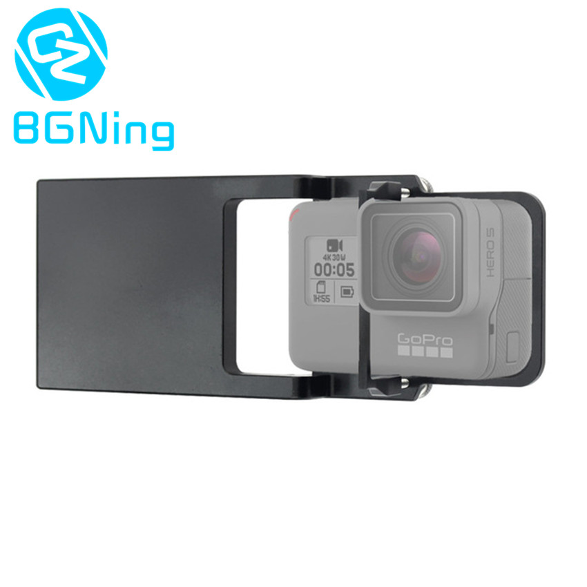 Metal Phone Gimbal to Camera Switch Mount Plate Adapter for Gopro 5 4 3 Xiaomi yi Action for DJI Osmo / Zhiyun Smooth Q Gimbals 3 8mm lens 1 2 3 sensor 12megapixel s mount low distortion for dji phantom 3 aerial gopro 4 camera drones