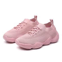 Summer and autumn vulcanize womens shoes breathable mesh cross straps casual sports fashion flat